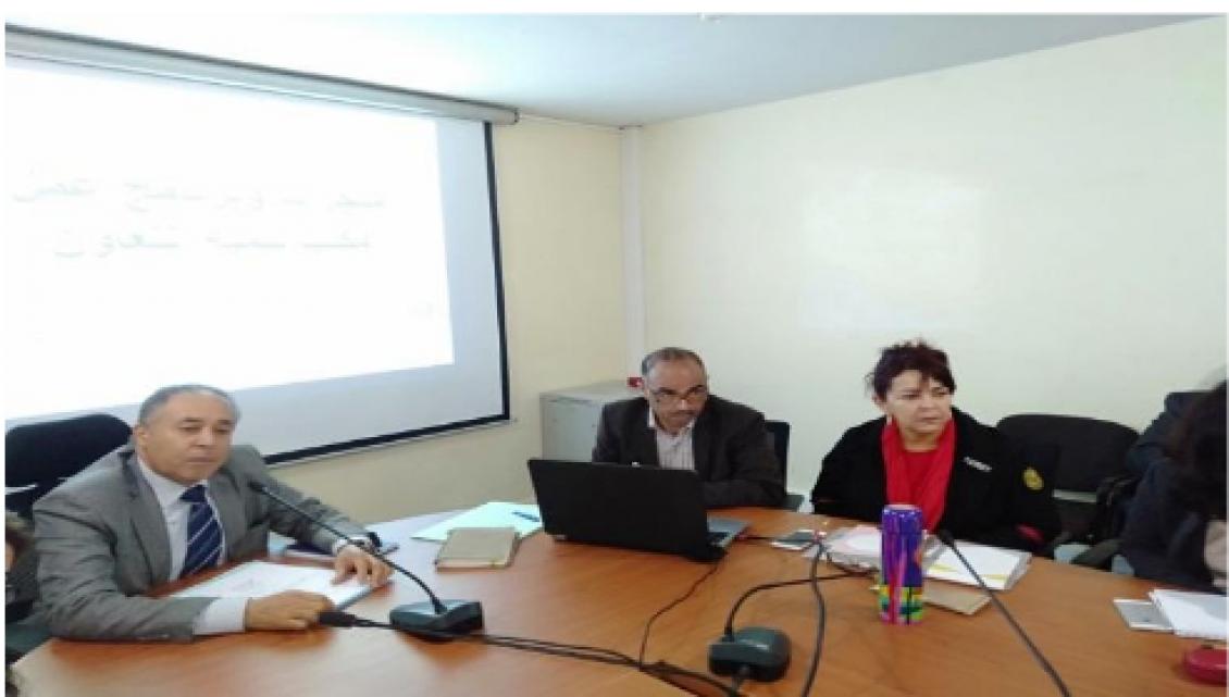 مدير مكتب تنمية التعاون بالنيابة ، السيد عبد الواحد العابد يترأس الاجتماع السنوي للمندوبين الجهويين للمكتب