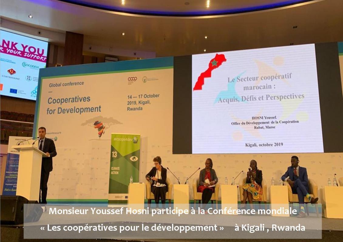 Le Directeur de l'Office de Développement de la Coopération participe à Conférence mondiale « Les coopératives pour le développement » à Kigali , Rwanda