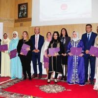Consécration de 14 coopératives féminines du prix national de la meilleure idée de projet de développement d'une coopérative féminine.