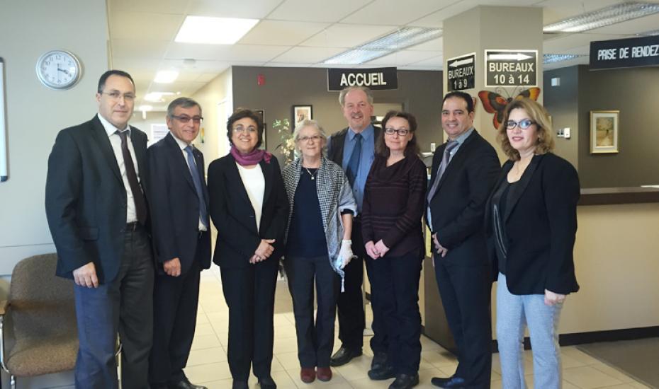 Madame la Ministre de l'Artisanat et de l'Economie Sociale et Solidaire en visite officielle au Québec  pour Développer la coopération en ESS  9-11 mars 2016