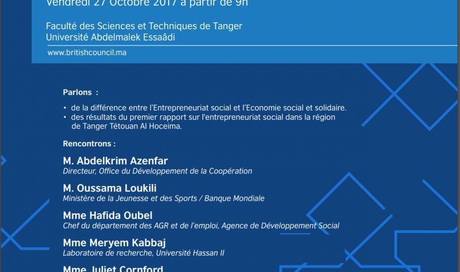 ENTREPRENARIAT SOCIAL Tanger-Tetouan-Al Hoceima