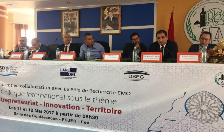 Colloque International Entrepreneuriat - Innovation - Territoire