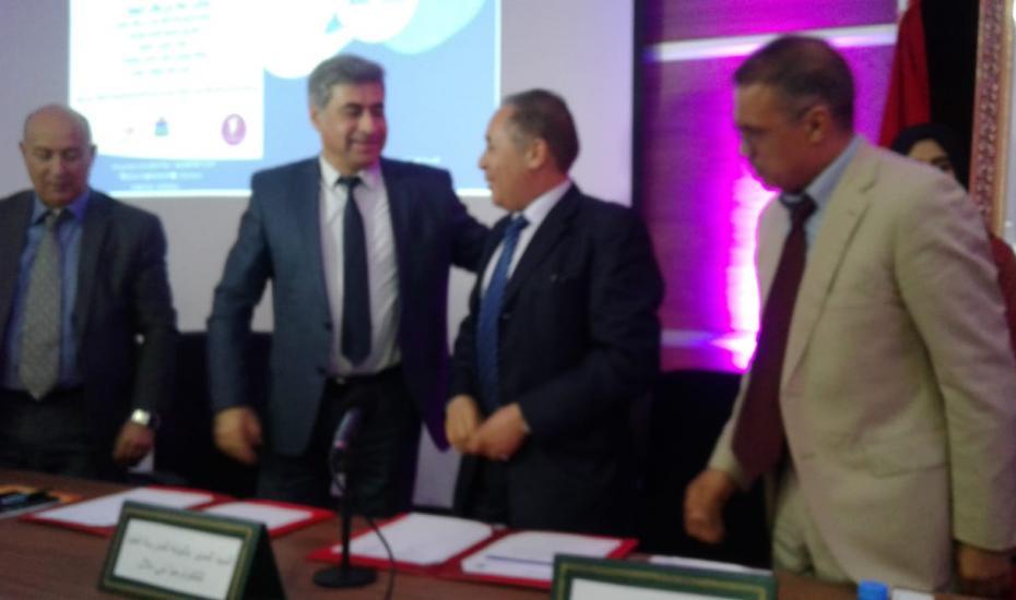 مكتب تنمية التعاون يوقع إتفاقية شراكة مع جامعة السلطان مولاي سليمان ببني ملال