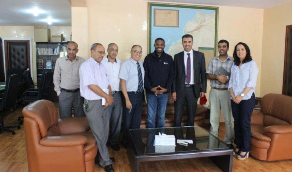 Réunion de travail avec les partenaires du projet Kasbuy, «Moroccan Internet Society (MISOC), «International-Internet Society» et le Directeur de l'ISOC Afrique