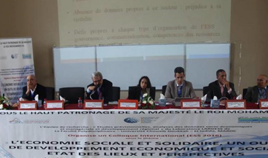 L'Office du développement de la coopération participe aux travaux du colloque international sur l'économie sociale et solidaire à El-Jadida