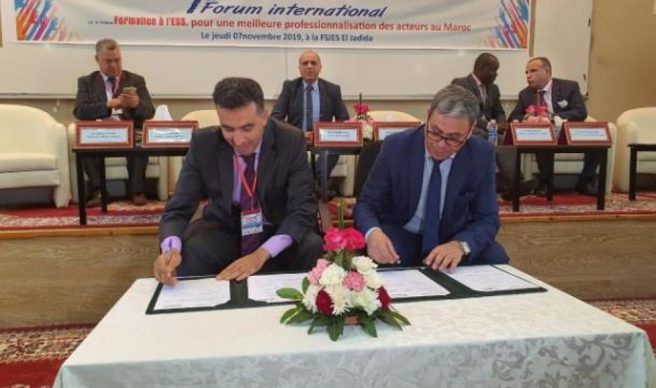 L'Office de Développement de la Coopération Signe une convention de partenariat avec l'Université Chouaib Doukkali