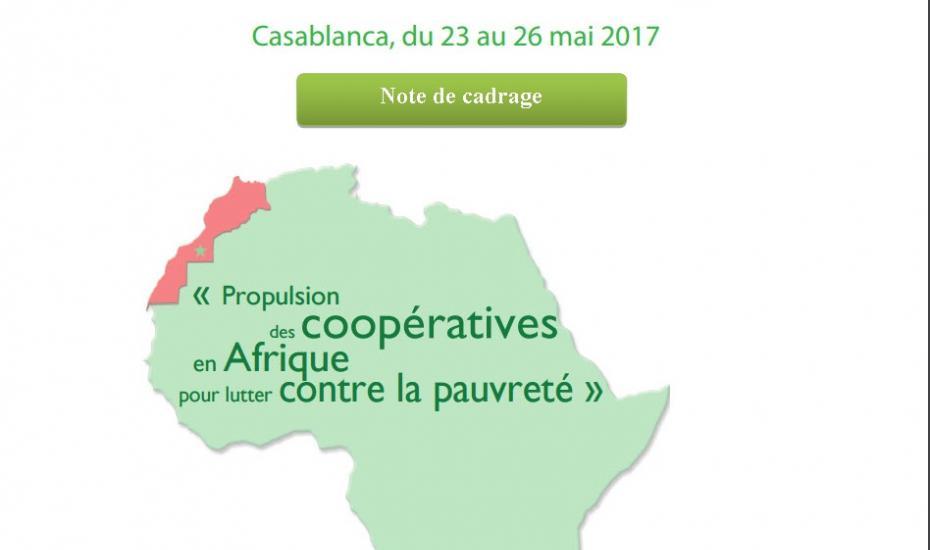 Note de cadrage la  3ème conférence Africaine des coopératives