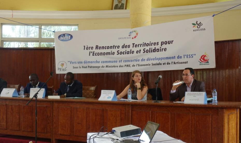 Yaoundé 25-26 janvier 2017, l'ODCO a participé aux 1ères rencontres des territoires pour l'économie sociale et solidaire au Cameroun