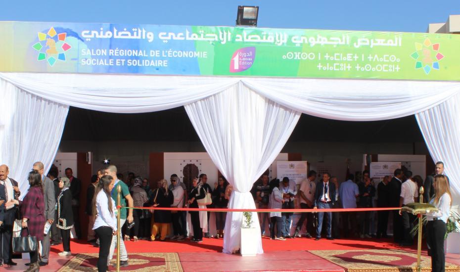 Participation de l'Office du Développement de la Coopération Salon régional de l'économie sociale et solidaire
