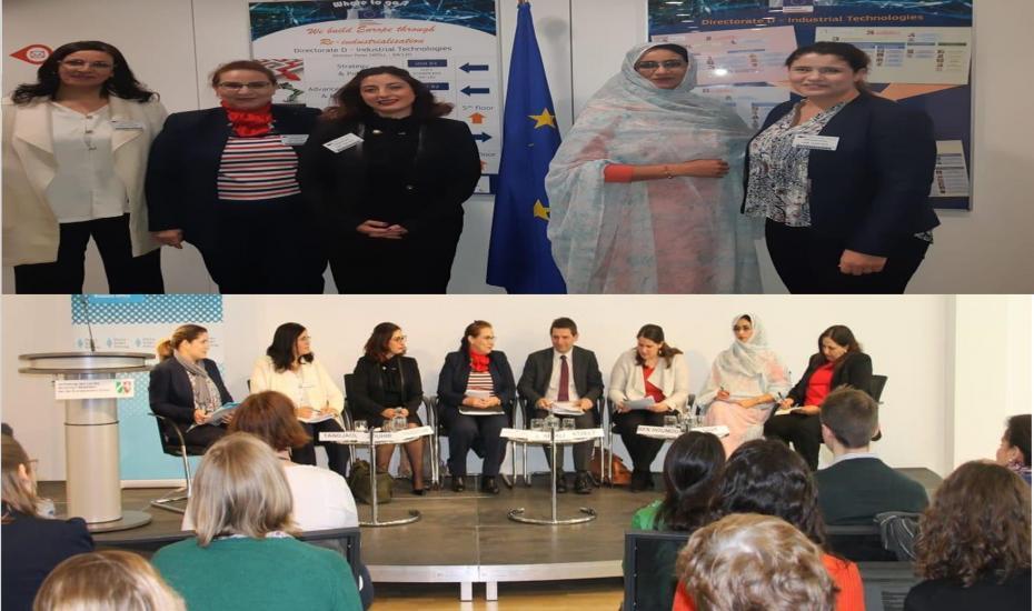 Participation de l'ODCo à une table ronde sous le thème : Le pouvoir des femmes dans l'entrepreneuriat et la société civile » à Brussels (Belgique)